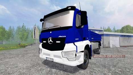 Mercedes-Benz Arocs [kipper] pour Farming Simulator 2015