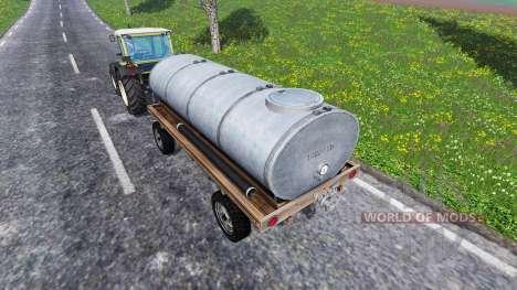 Remorque citerne pour Farming Simulator 2015