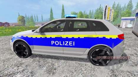 Audi RS3 Police pour Farming Simulator 2015
