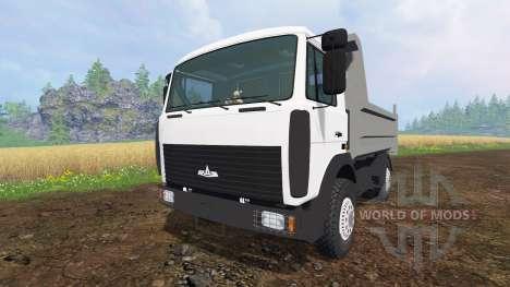 MAZ-5551 v3.0 für Farming Simulator 2015