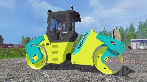 Ammann AV110X für Farming Simulator 2015