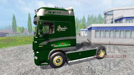 DAF XF Heineken pour Farming Simulator 2015