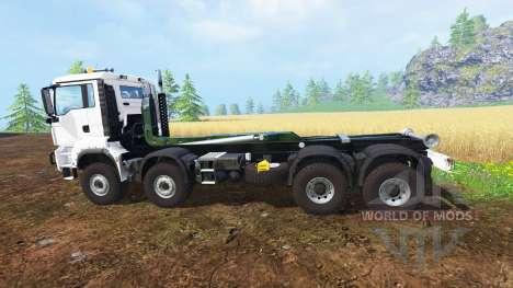 MAN TGS 8x8 pour Farming Simulator 2015