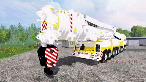Liebherr LTM 11200 pour Farming Simulator 2015
