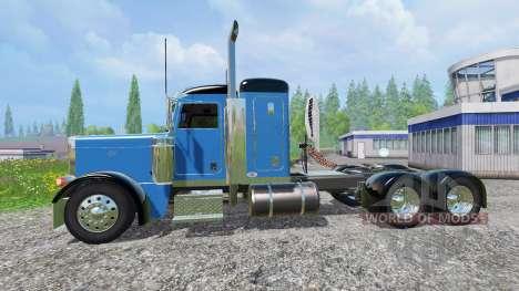 Peterbilt 379 1999 v1.1 pour Farming Simulator 2015