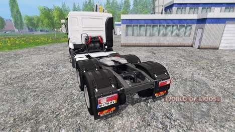 Renault Premium 6x4 für Farming Simulator 2015