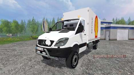 Mercedes-Benz Sprinter [service] für Farming Simulator 2015