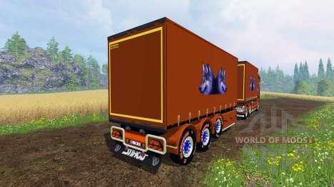 Scania R1000 [plane] pour Farming Simulator 2015