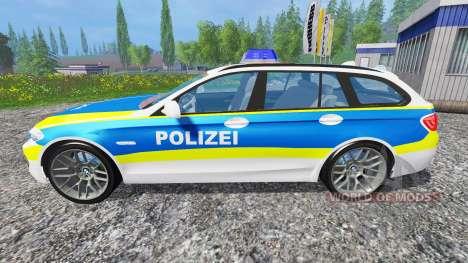 BMW 520d Police für Farming Simulator 2015