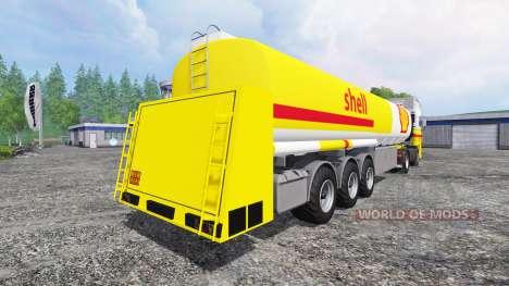 DAF XF Shell pour Farming Simulator 2015