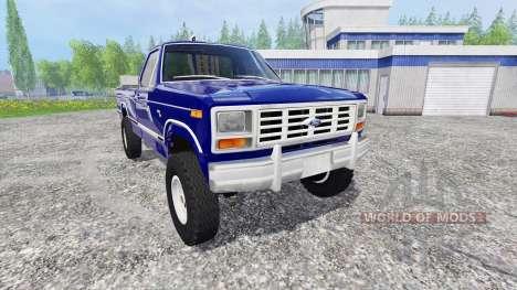 Ford Ranger F-150 1981 pour Farming Simulator 2015