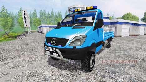 Mercedes-Benz Sprinter [nacelle] pour Farming Simulator 2015