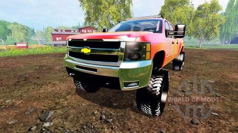 Chevrolet Silverado 2500 HD 2010 für Farming Simulator 2015