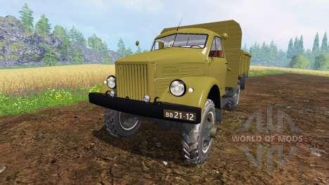 Der GAZ-63 für Farming Simulator 2015
