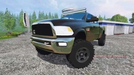 Dodge Ram 2500 v1.1 für Farming Simulator 2015