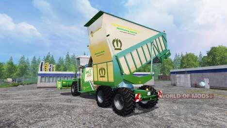 Krone Big X 650 Cargo pour Farming Simulator 2015