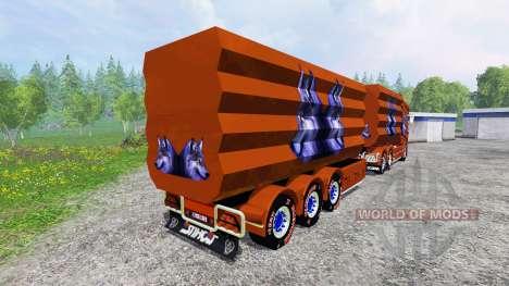 Scania R1000 [tipper] für Farming Simulator 2015