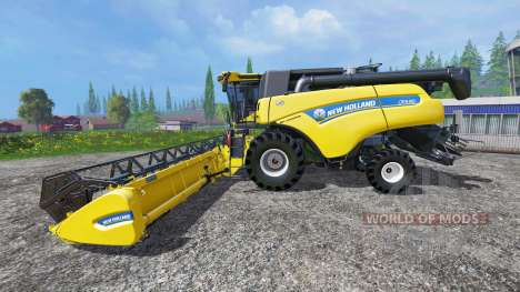 New Holland CR9.90 v1.2 für Farming Simulator 2015