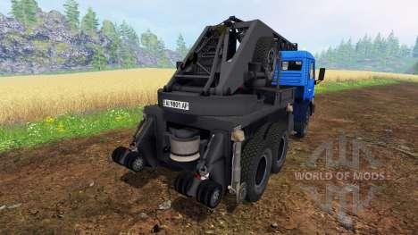 KAMAZ Kran für Farming Simulator 2015