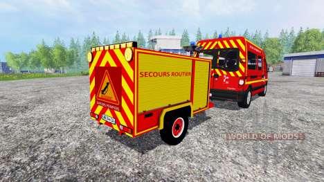 Remorque Secours Routier für Farming Simulator 2015