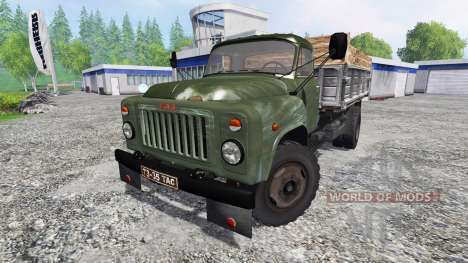 GAZ-53 [green] pour Farming Simulator 2015