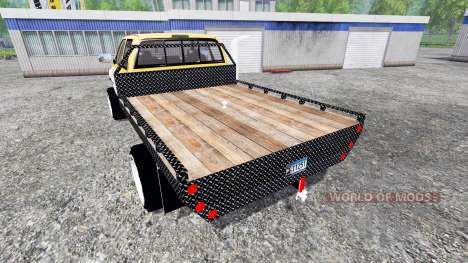 Dodge Ram 2500 [flatbed] für Farming Simulator 2015