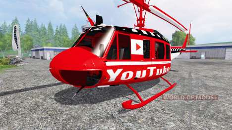 Bell UH-1D [YouTubers] pour Farming Simulator 2015