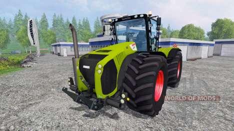 CLAAS Xerion 5000 v1.1 pour Farming Simulator 2015