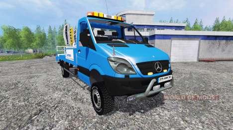 Mercedes-Benz Sprinter [nacelle sarens] für Farming Simulator 2015