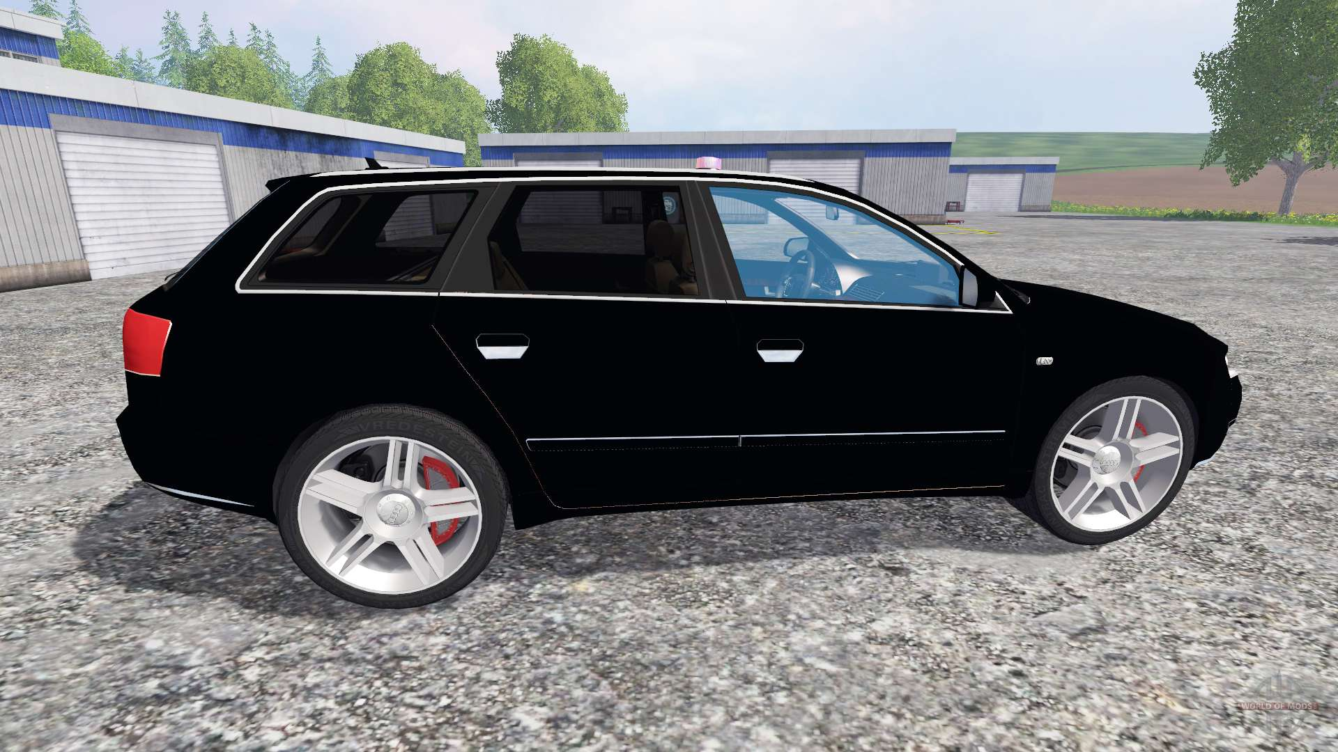 audi a4 police v1 1 pour farming simulator 2015. Black Bedroom Furniture Sets. Home Design Ideas