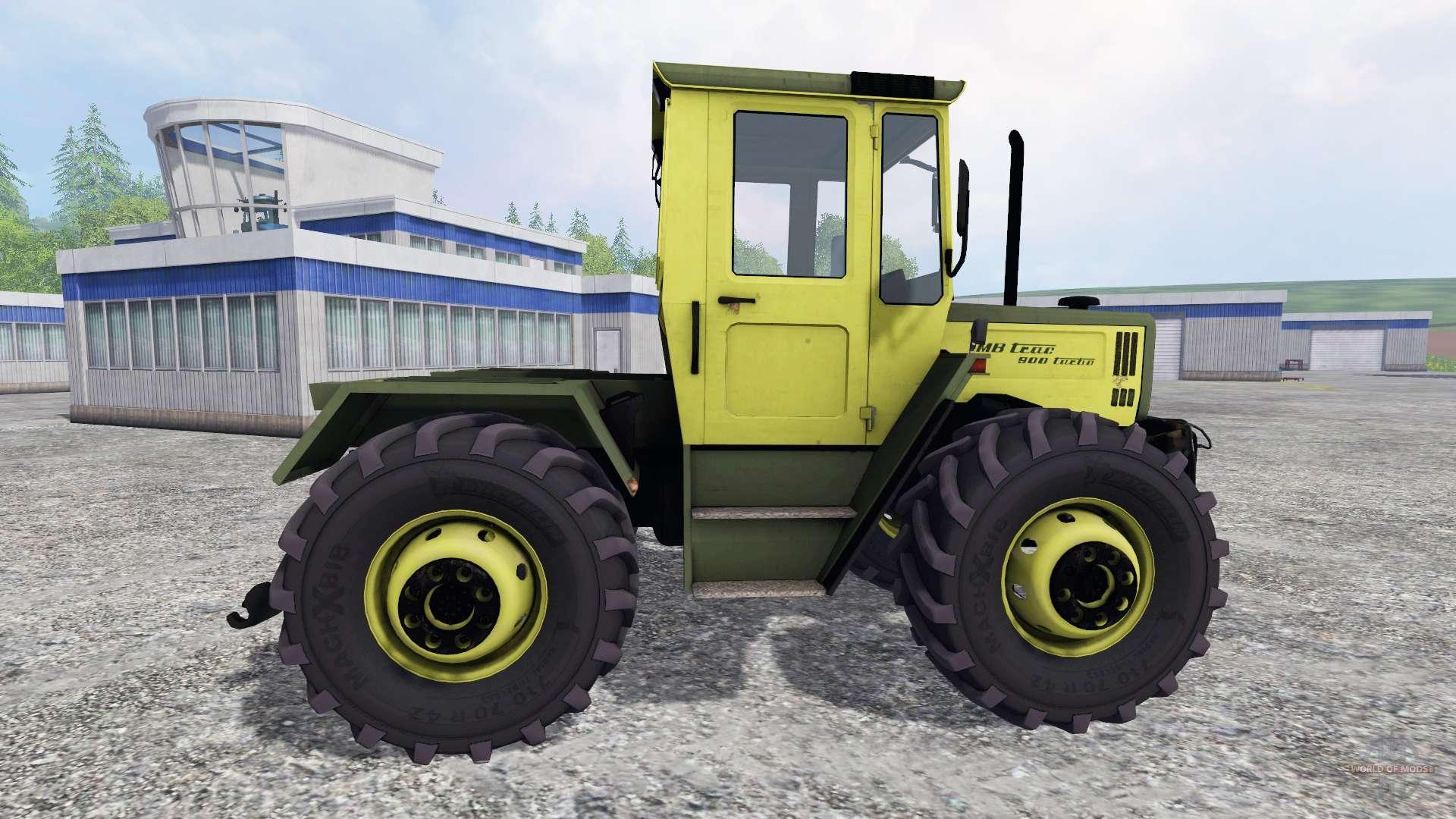 mercedes benz trac 900 turbo f r farming simulator 2015. Black Bedroom Furniture Sets. Home Design Ideas