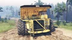 Dump truck 8x8 pour Spin Tires