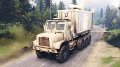 Oshkosh MTVR LHS 8x8 pour Spin Tires