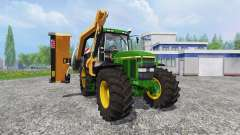 John Deere 7810 [mount mower]