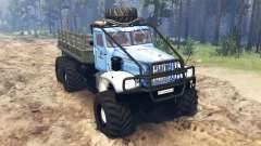 KrAZ-214 v3.0 pour Spin Tires
