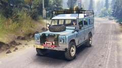 Land Rover Defender Series III pour Spin Tires