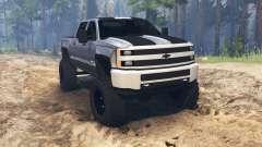 Chevrolet Silverado 3500 HD pour Spin Tires
