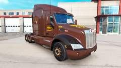 Haut Wegmans auf Traktoren Peterbilt und Kenworth für American Truck Simulator