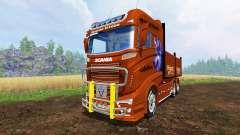 Scania R1000 [flatbed] pour Farming Simulator 2015