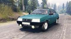 VAZ-21099 für Spin Tires