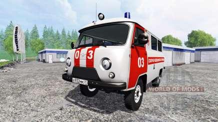 UAZ-2206 [ambulance] v2.0 pour Farming Simulator 2015