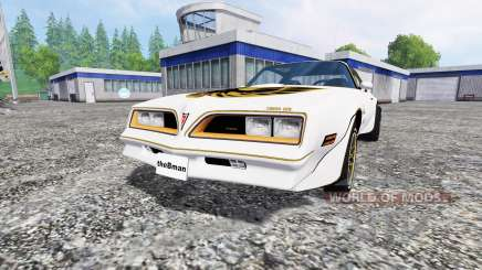 Pontiac Firebird Trans Am 1977 pour Farming Simulator 2015