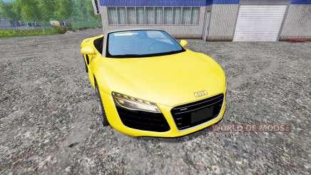 Audi R8 Spyder 2015 pour Farming Simulator 2015