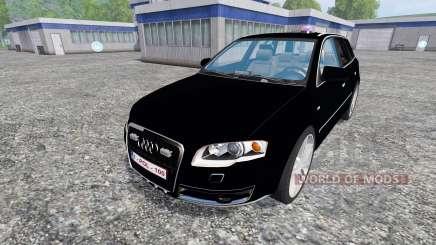 Audi A4 Police pour Farming Simulator 2015