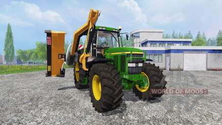 John Deere 7810 [mount mower] pour Farming Simulator 2015