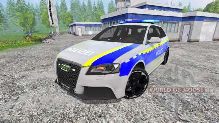Audi RS3 Police für Farming Simulator 2015