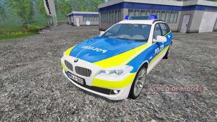 BMW 520d Police pour Farming Simulator 2015