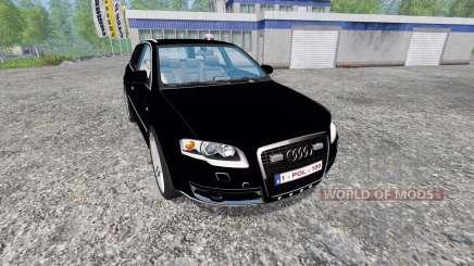 Audi A4 Police v1.1 pour Farming Simulator 2015
