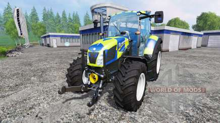 New Holland T5.115 Police pour Farming Simulator 2015
