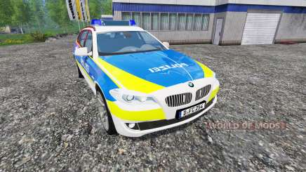 BMW 520d Dusseldorf Police pour Farming Simulator 2015